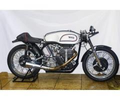 Steve Lancefield prepared 1960 Manx Norton 500cc
