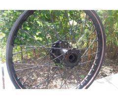 Rear wheel to identify