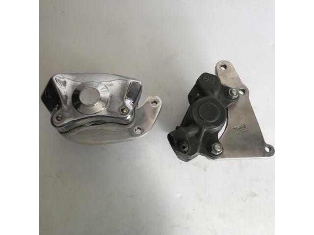 Disc brake calliper with Norvill brackets