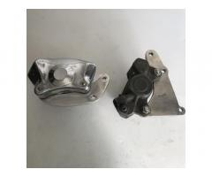 Disc brake calliper with Norvill brackets