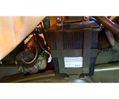 Norton 16H battery bracket