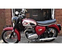 BSA A65 Star 1962 now sold