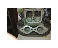 Downdraught SS cylinder head (bare) £200