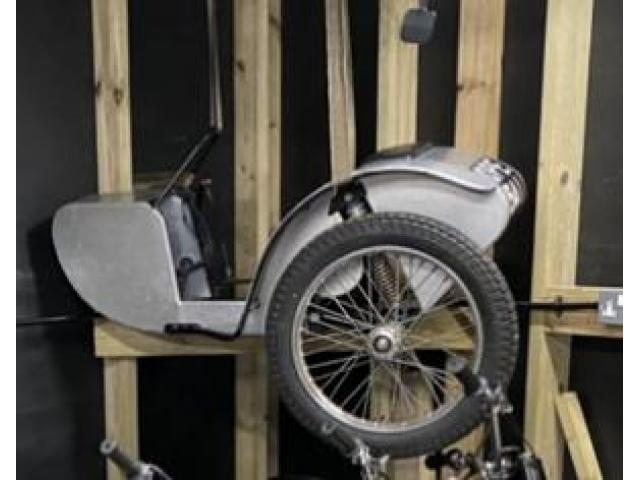 Competition sidecar for Norton 500t
