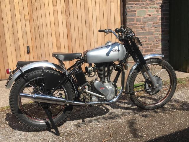 1953 Norton 500T