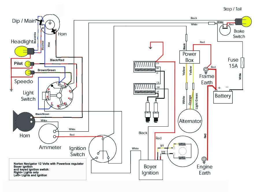 Navigator Wiring V on Norton Capacitor Wiring