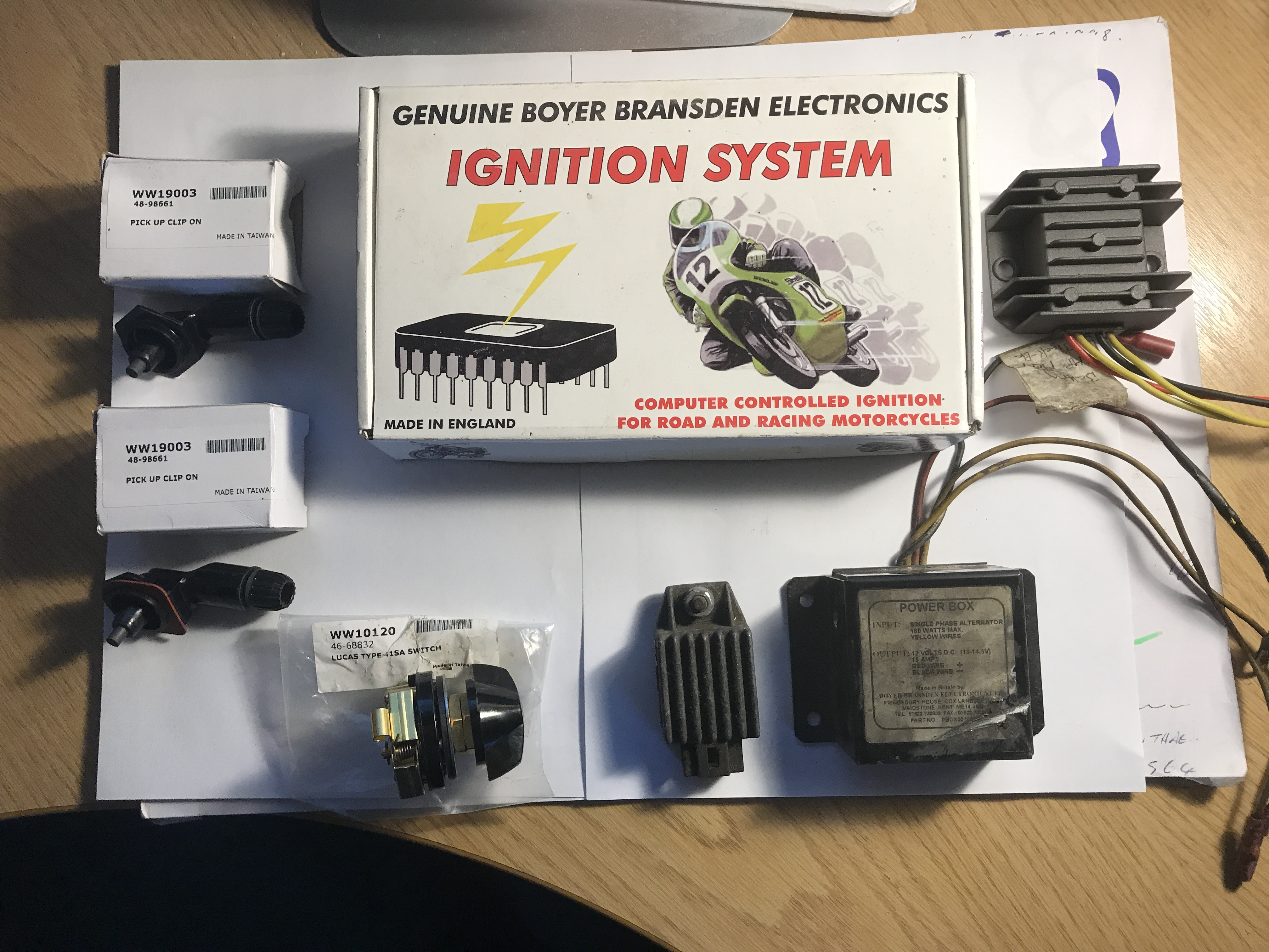 1975 Mk 3 Commando Final Wiring Assistance Required